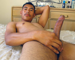 Gay kissing nude Latino men